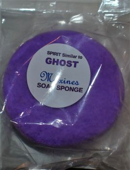GHOST - ROUND SOAP SPONGE FOR EASIER GRIP