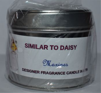 DAISY CANDLE IN A TIN 200g