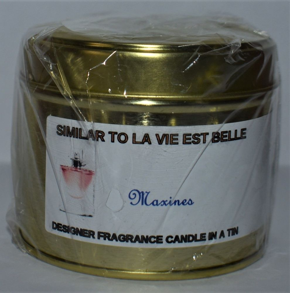 LA VIE EST BELLE CANDLE IN A TIN 200g