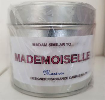 MADEMOISELLE CANDLE IN A TIN 200g