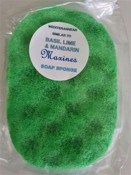 BASIL LIME & MANDARIN SOAP SPONGE