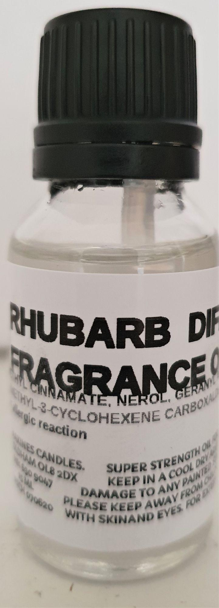 RHUBARB DIFFUSER FRAGRANCE OIL