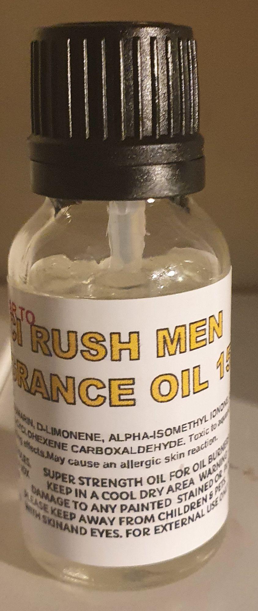 GUCCI RUSH MAN (SIMILAR TO) DESIGNER FRAGRANCE DIFFUSER OIL