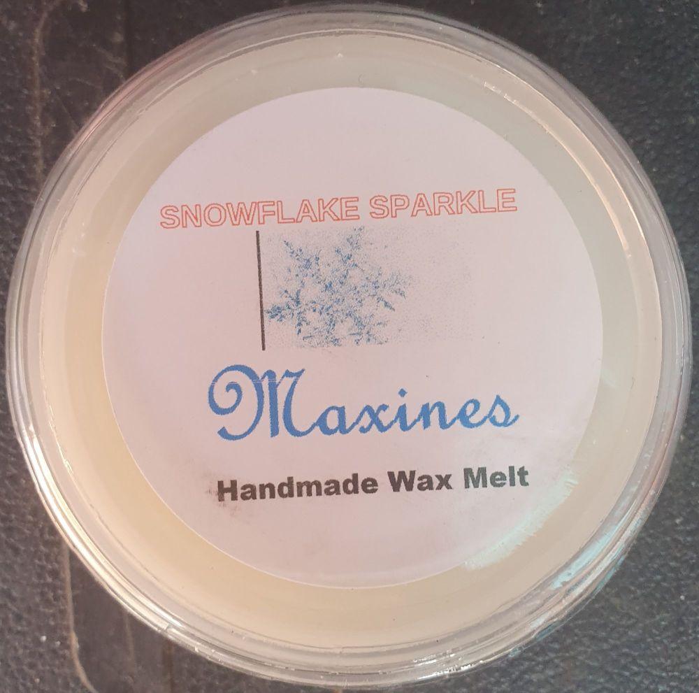 SNOWFLAKE SPARKLE WAX MELT