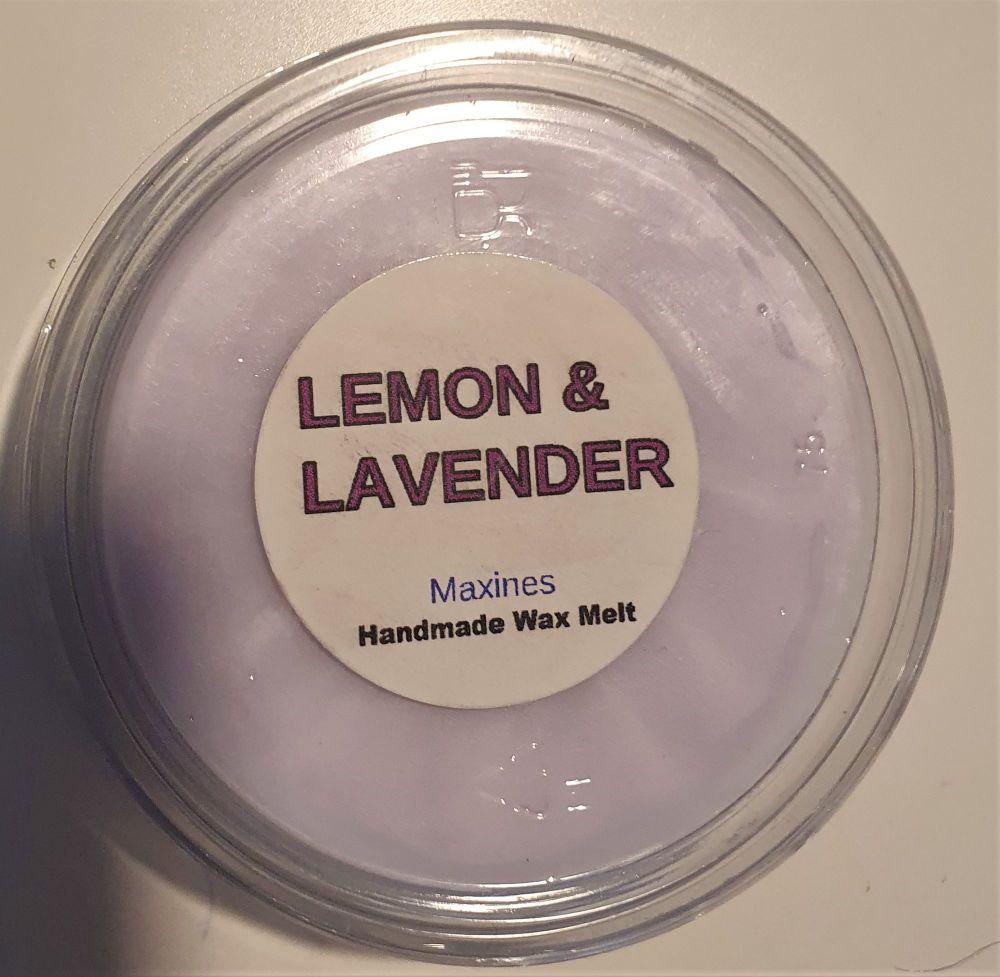 LEMON & LAVENDER WAX MELT