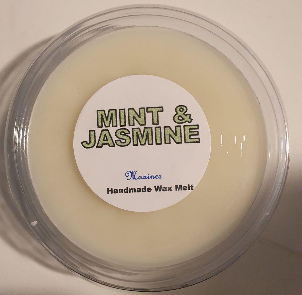 MINT & JASMINE WAX MELT