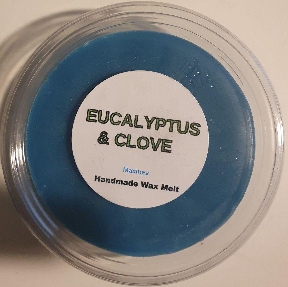 EUCALYPTUS & CLOVE WAX MELT