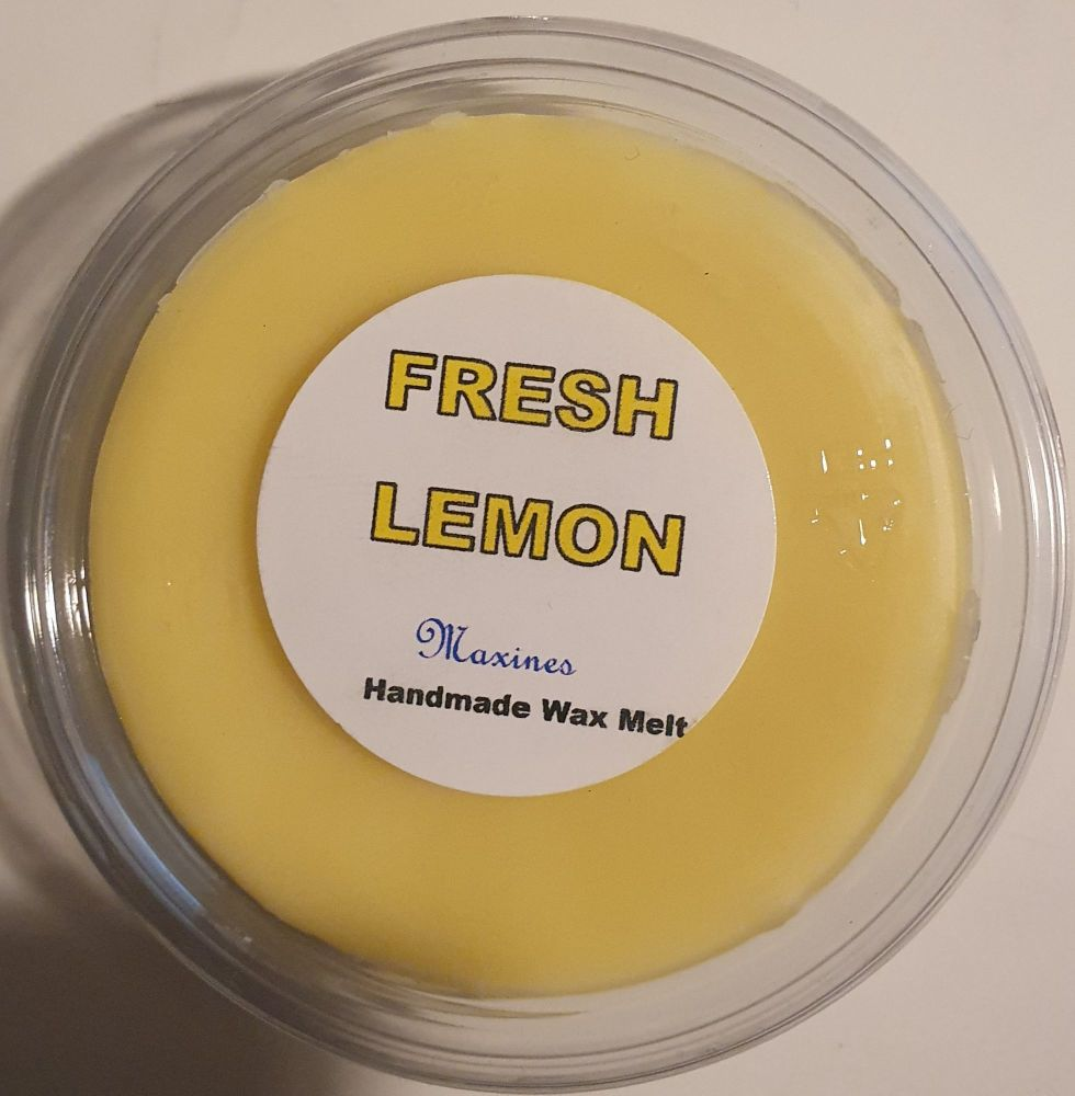 LEMON WAX MELT
