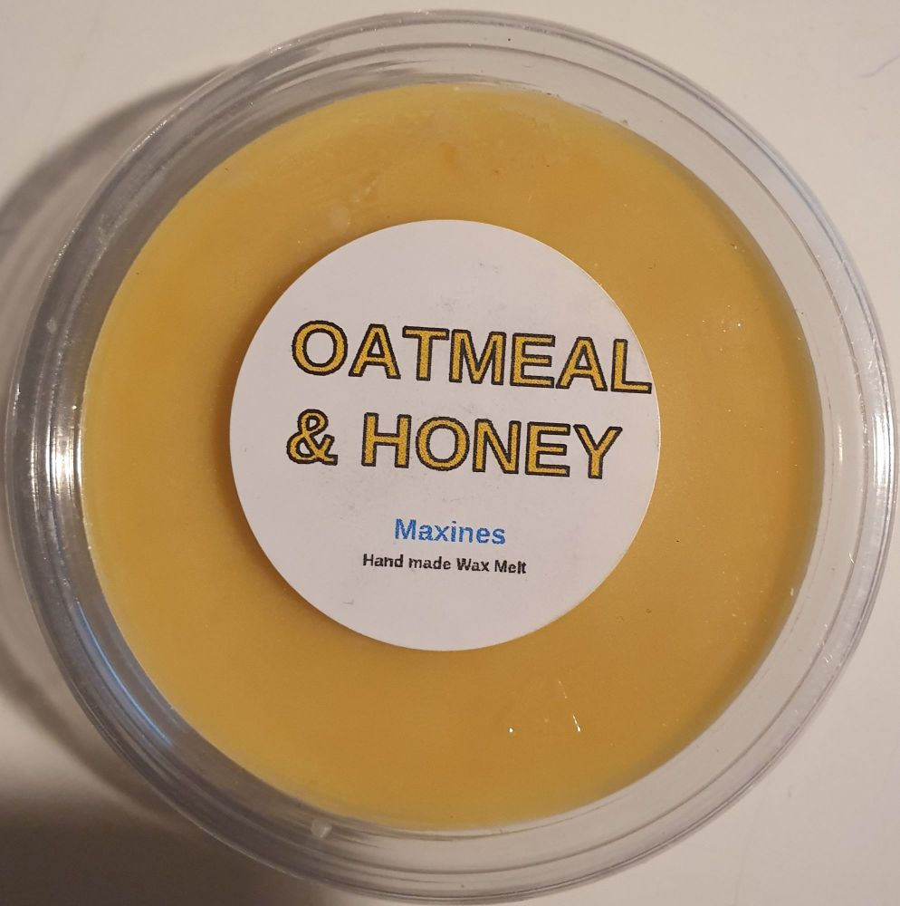 OATMEAL & HONEY WAX MELT