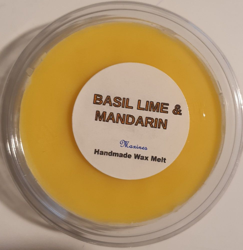 BASIL LIME AND MANDARIN ( SIMILAR TO ) WAX MELT