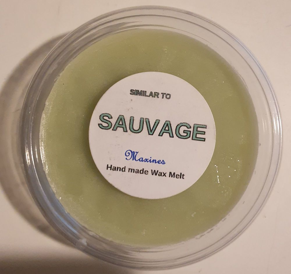 SAUVAGE ( SIMILAR TO ) WAX MELT