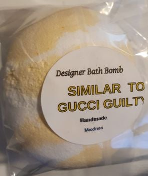 GUILTY  BATH BOMB (SIMILAR TO)