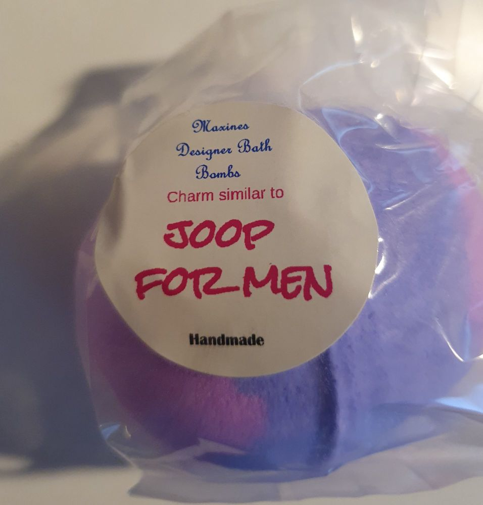 JUPE FOR MEN BATH BOMB
