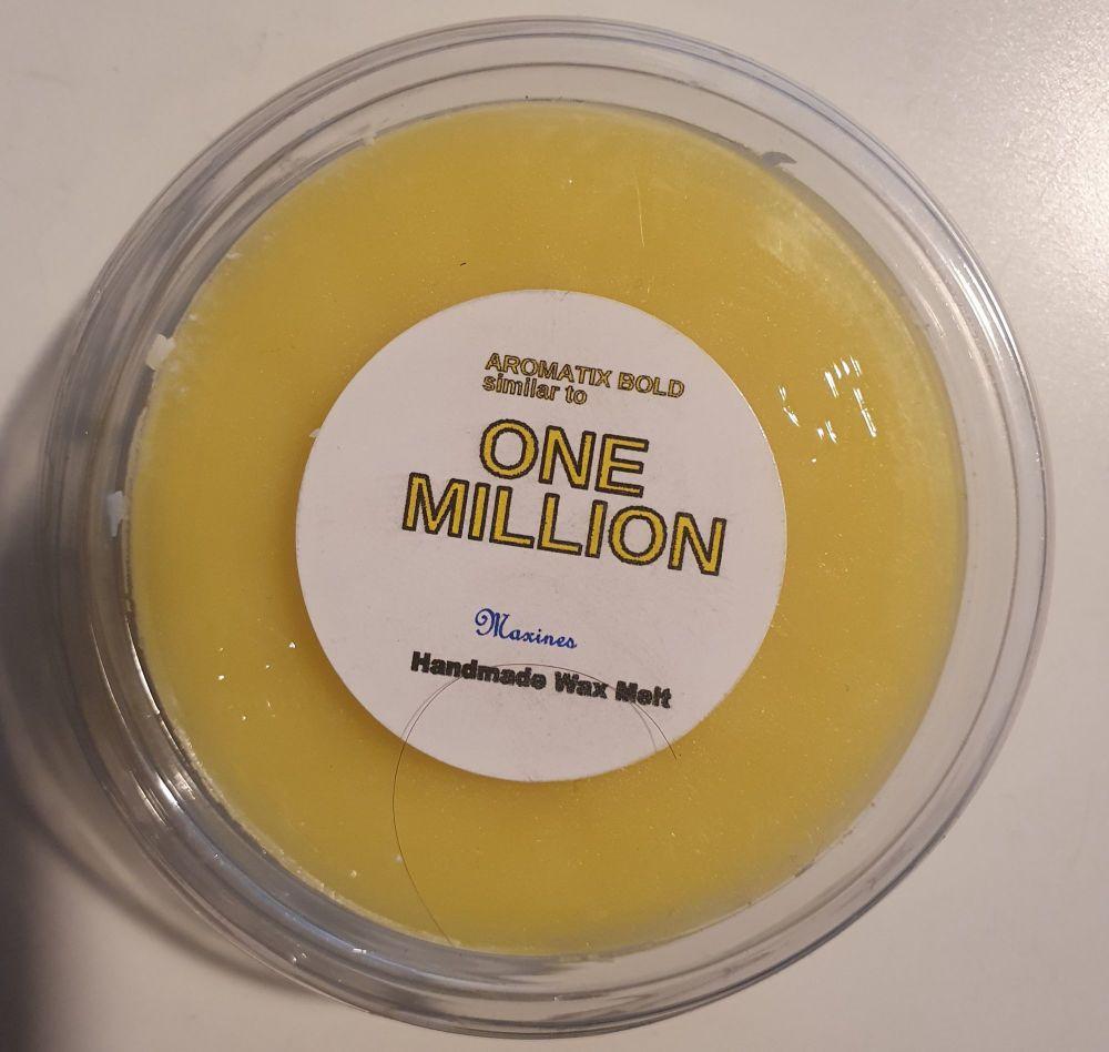 ONE  MILLION  ( SIMILAR TO) WAX MELT