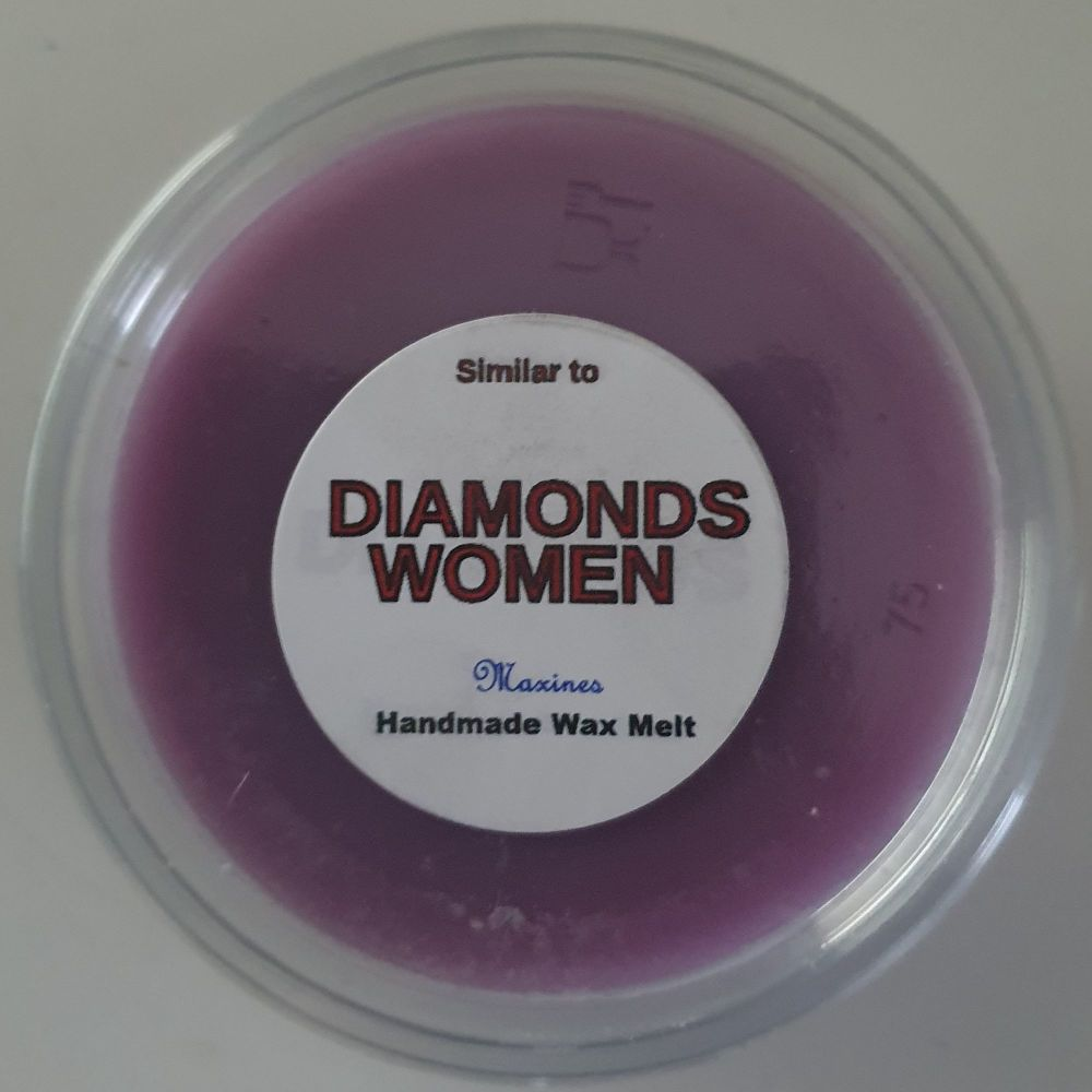 DIAMONDS WOMEN ( SIMILAR TO ) WAX MELT