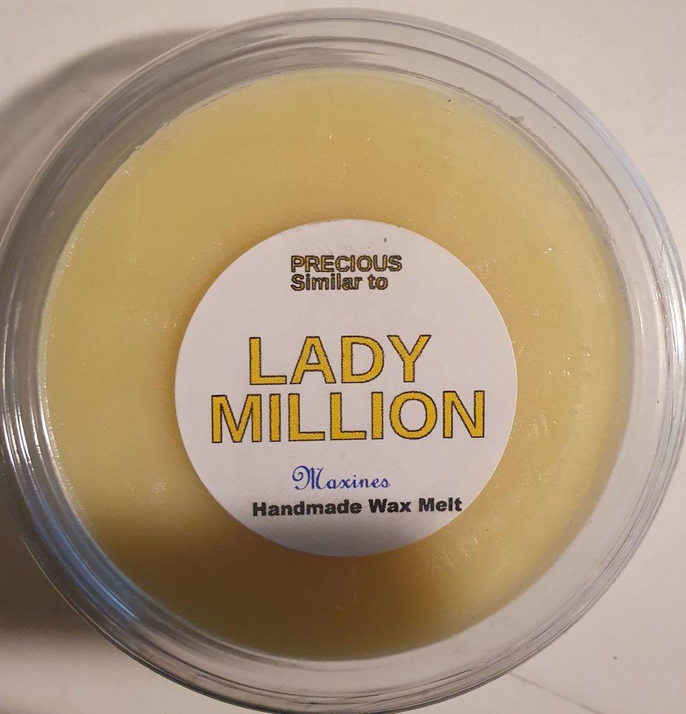 LADY MILLION  ( SIMILAR TO ) WAX MELT