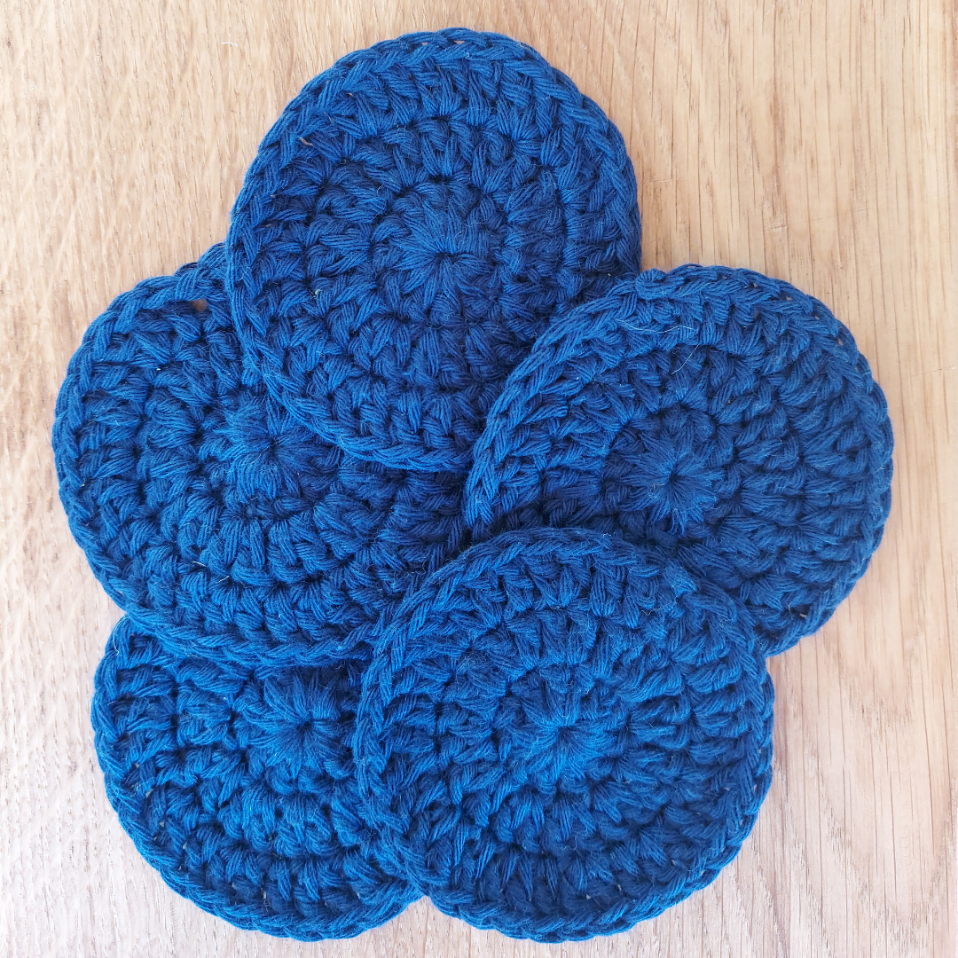 Face Scrubbies - Navy