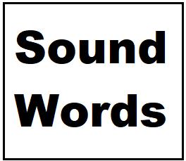 sound words logo