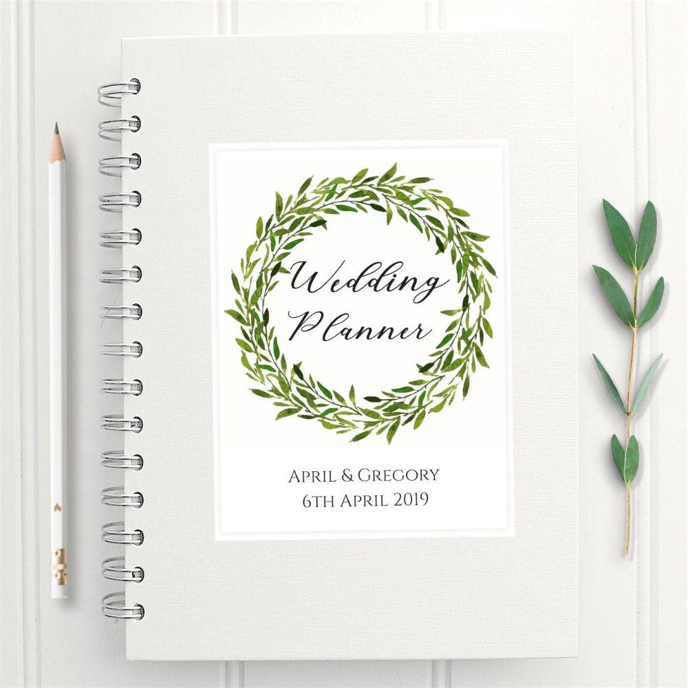 Botanical Wedding Planner Book