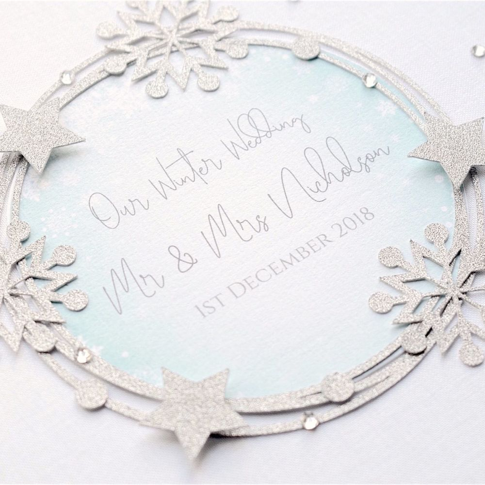 All That Sparkles Wedding Guest Book