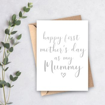 First Mother's Day as my Mummy