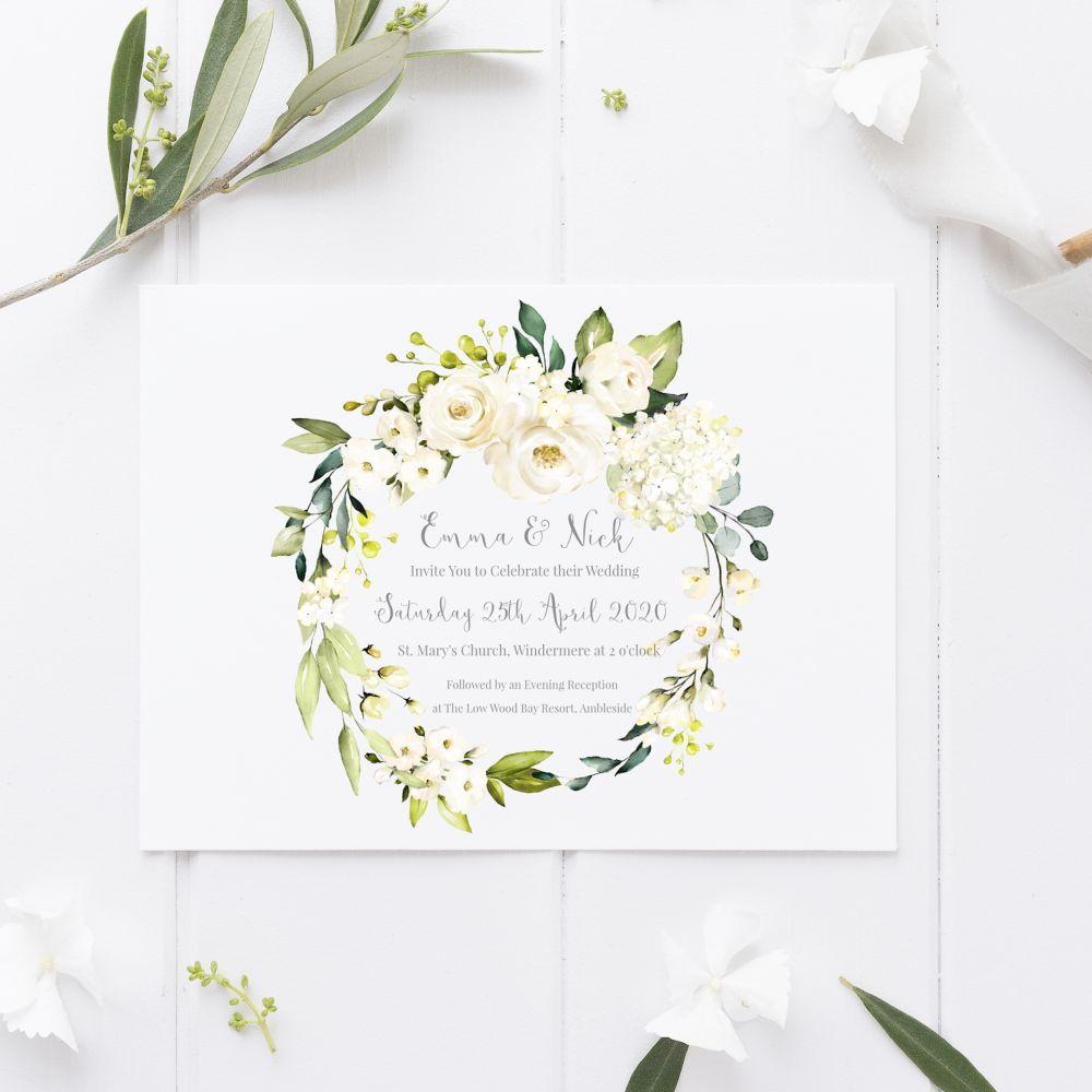 <!-- 000 -->Botanical White Florals