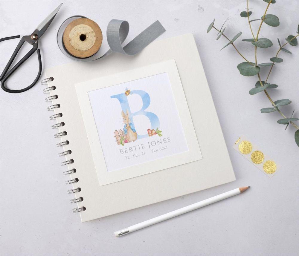 Peter Rabbit Baby Scrapbook