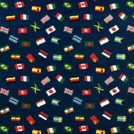 vis flag fabric