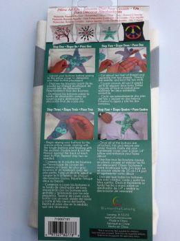 debbys patch button pillow kit starfish 2