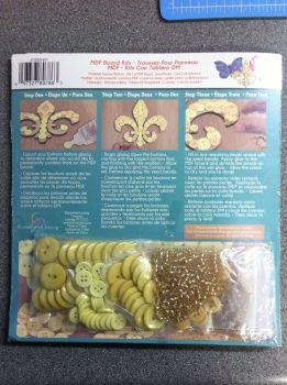 debbys patch craft kit fleur de lis 2