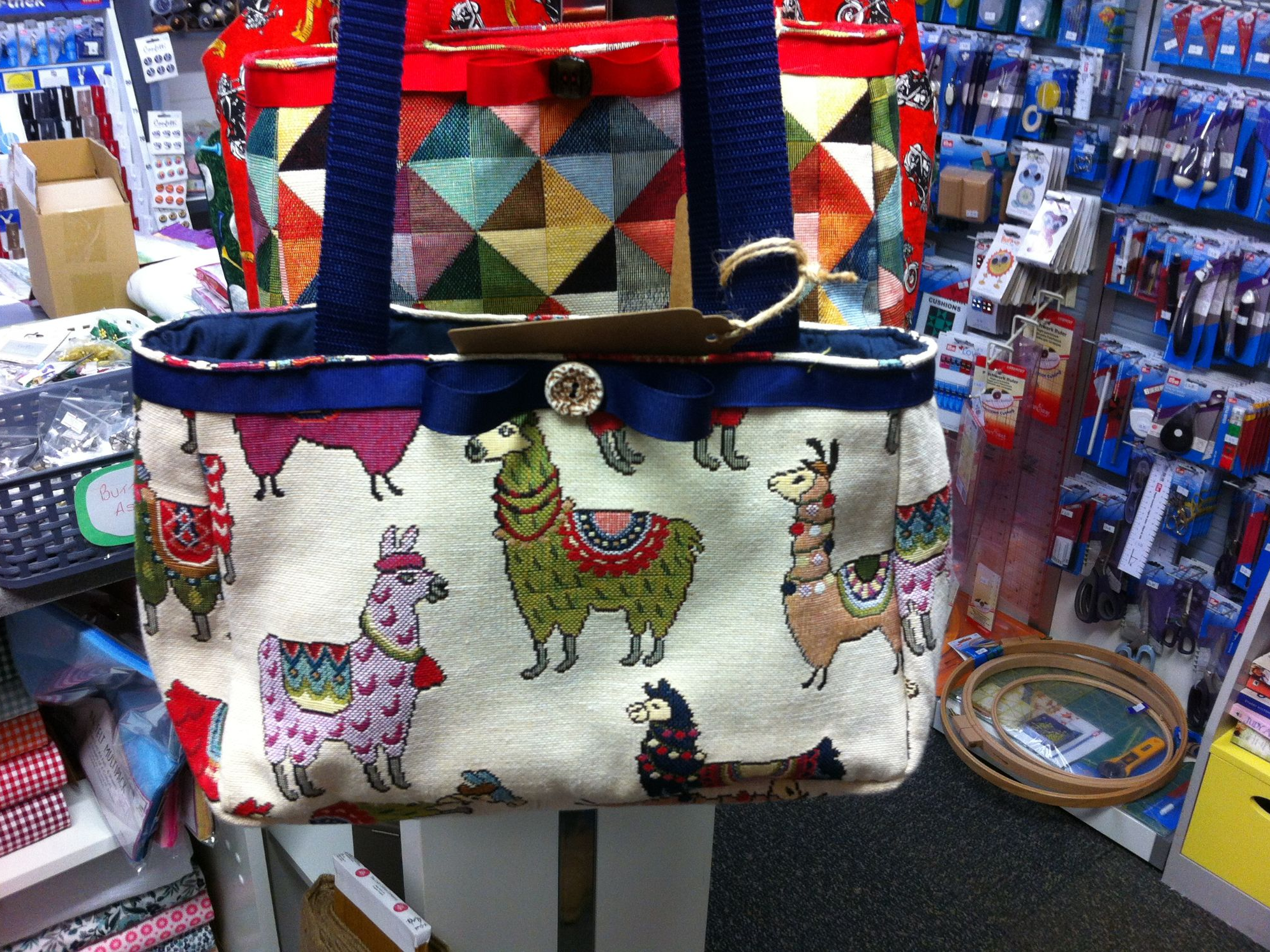 Debby's Patch lama bag
