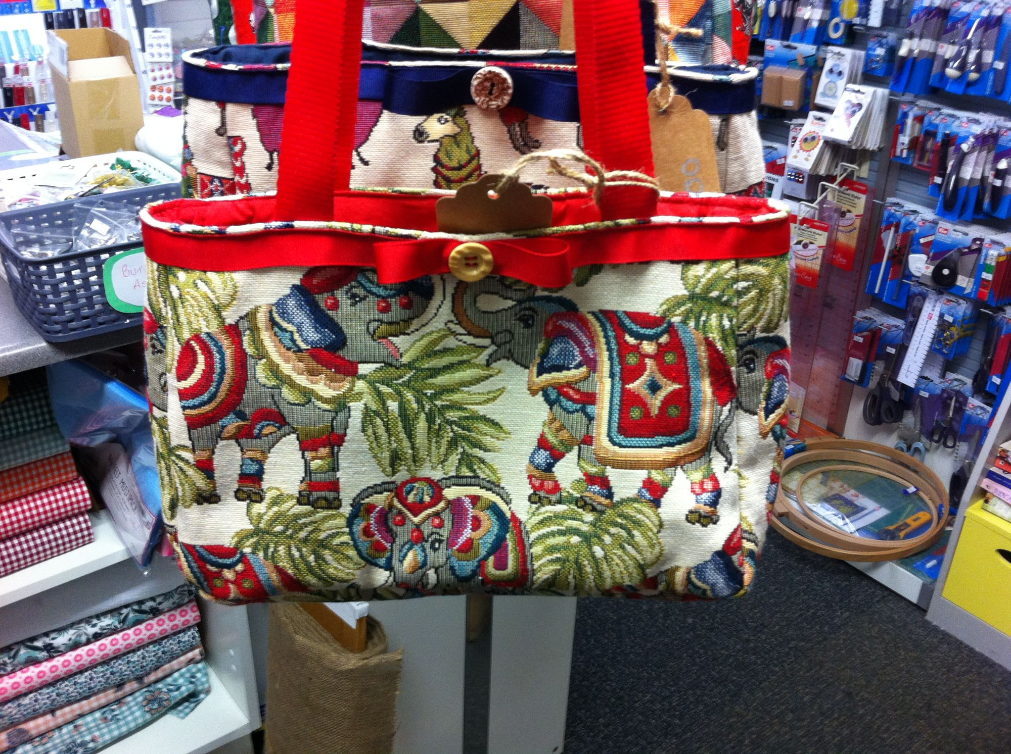 Debby's Patch elephant bag