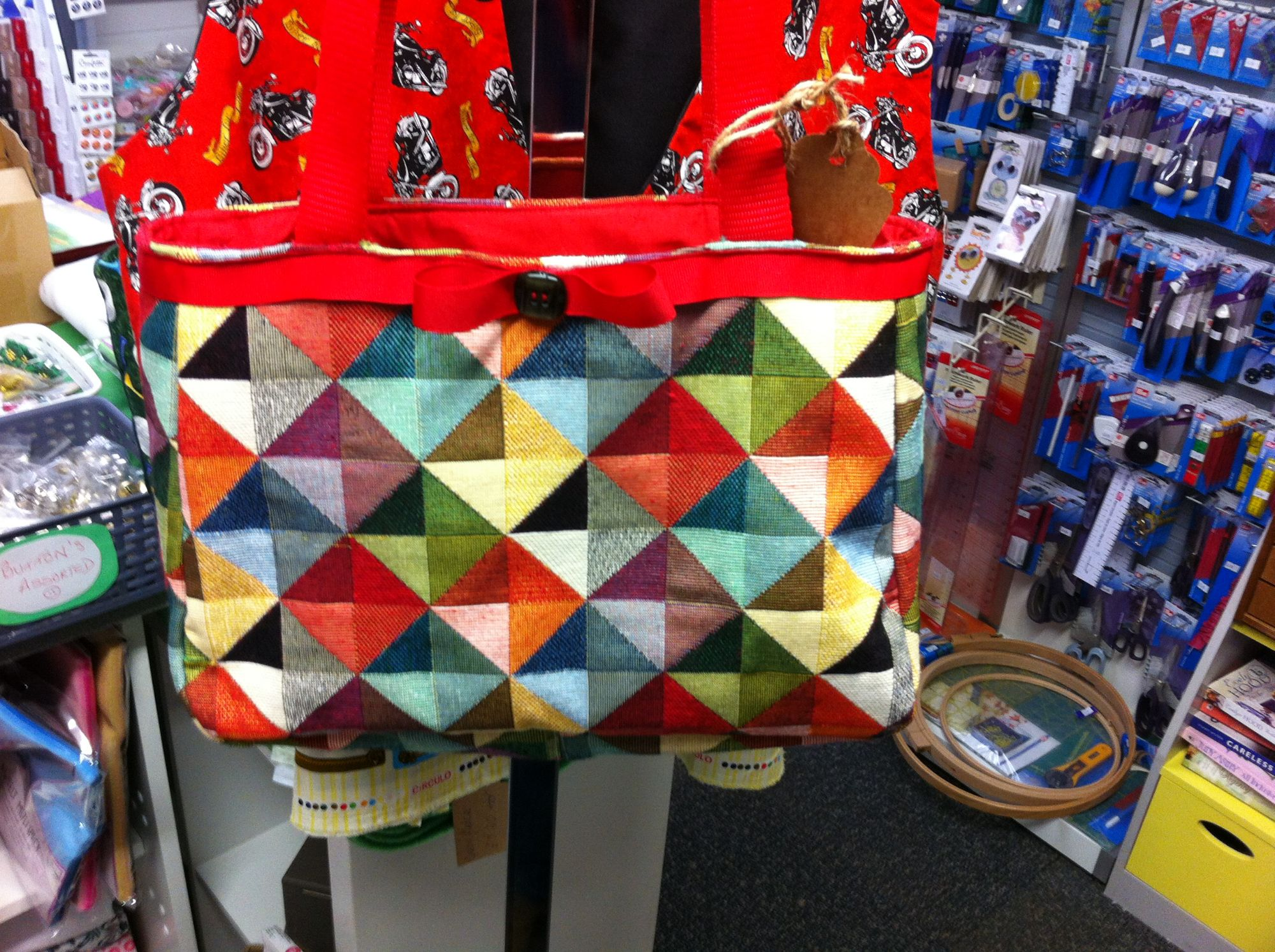 Debby's Patch retro bag