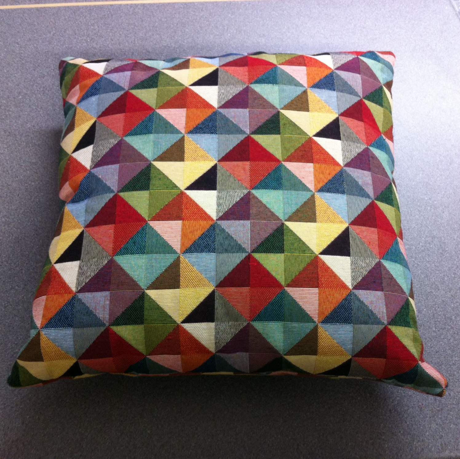 Debby's Patch retro cushion
