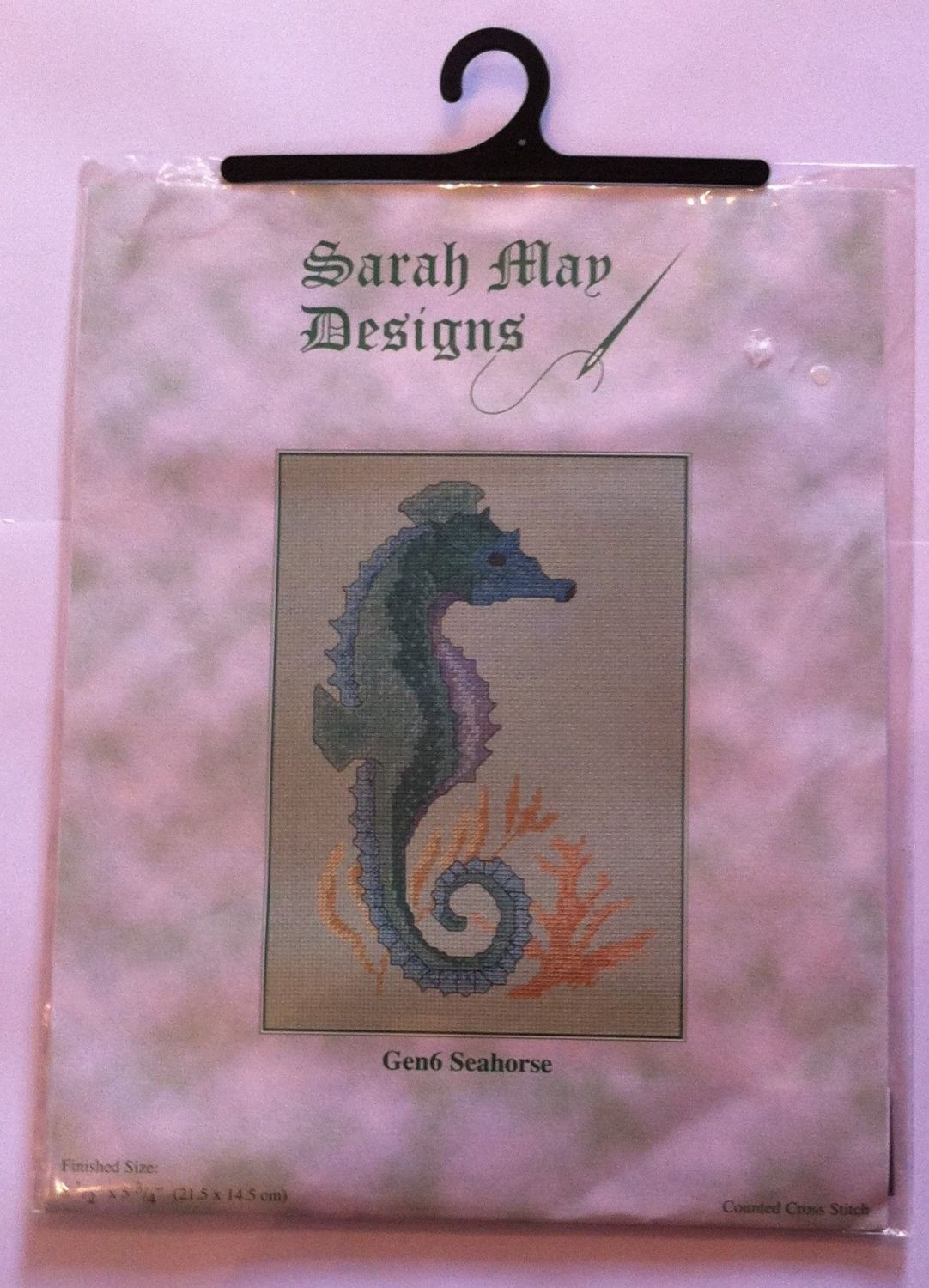 embroidery kit GEN6 Seahorse ref kit 1003