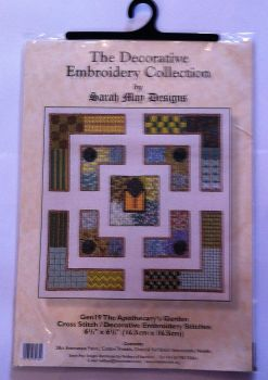 kit 1007 cross-stitch the apothecary's garden