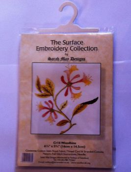 kit 1021  surface embroidery woodbine