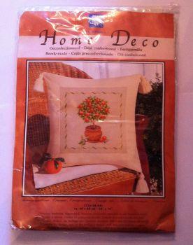 kit 1056 cross-stitch  home deco orange tree