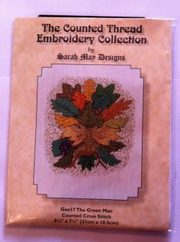 kit 1004 counted cross-stitch the green man