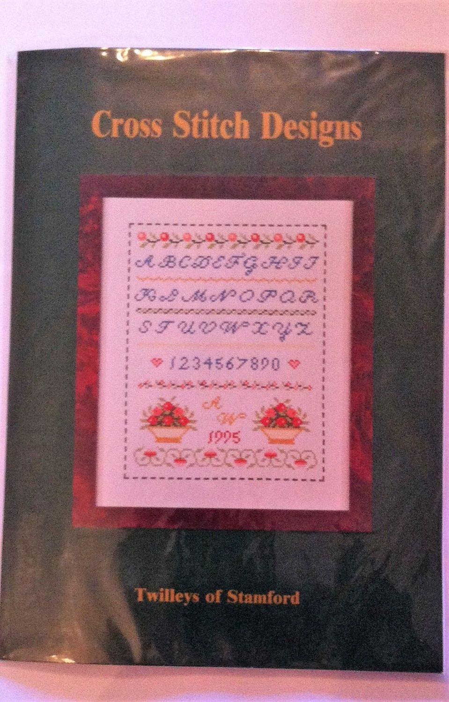 kit 1044 cross-stitch fruit sampler
