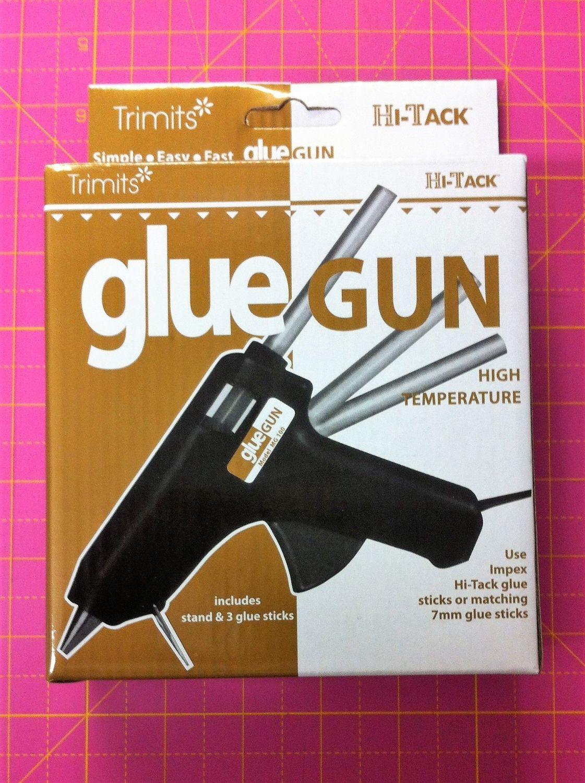 Trimits Hi-Tack glue gun high temperature