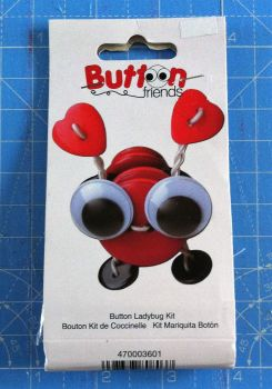 Kit 2001 Button Friends Ladybug by Button lovers