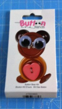 Kit 2004 Button Friends Button Bear by Button lovers