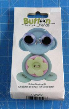 Kit 2005 Button Friends Button Monkey by Button lovers