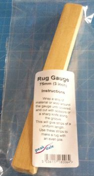 "Rug gauge 3"" (75mm) for rag rugging"