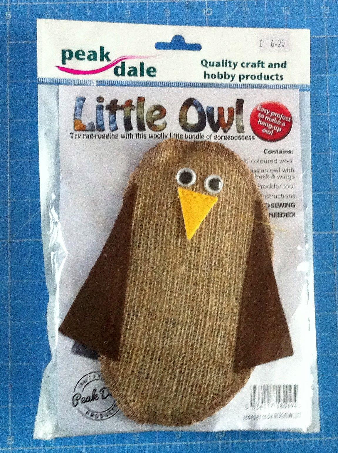 kit 3001 little owl rag rugging kit by peak dale