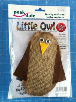 kit 3001 little owl rag rugging kit by peak dale