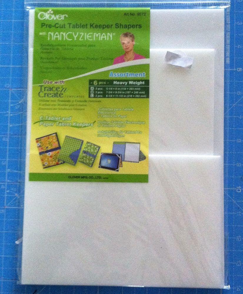 Clover Pre-cut tablet keeper shaper assortment 6 pcs