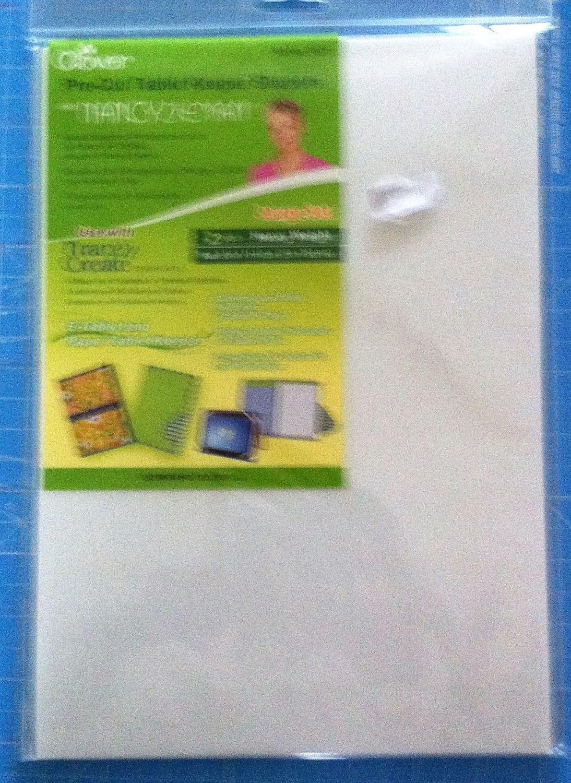 Clover Pre-cut tablet keeper shaper large 2 pcs