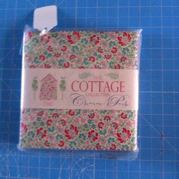 Tilda the cottage collection charm pack